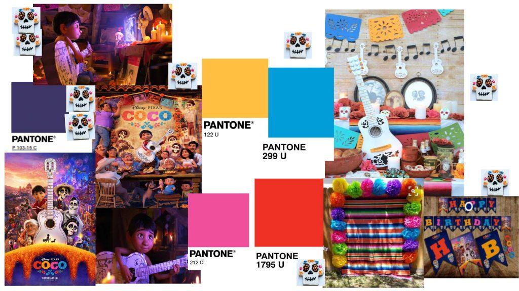 festa de anos do COCO pixar, inspiração coco themed birthday party