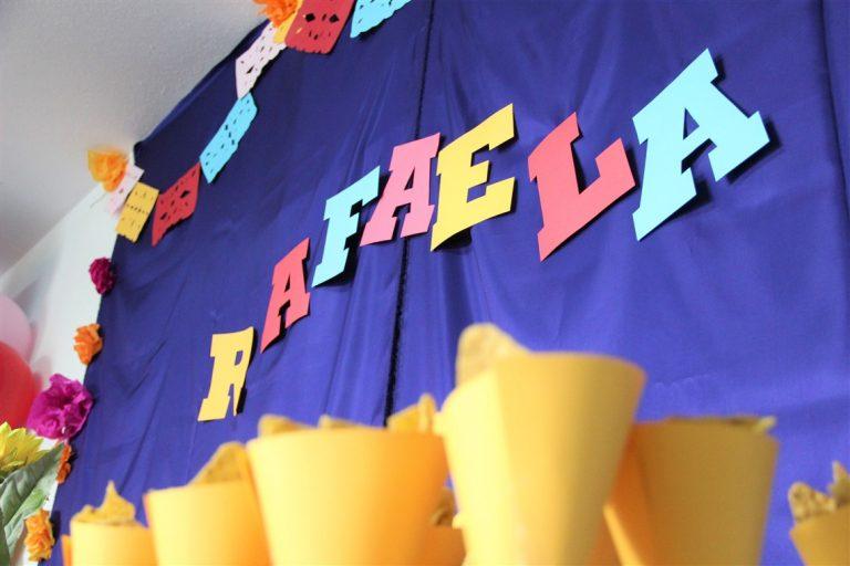 fundo da festa do COCO coco themed birthday party